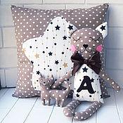 Для дома и интерьера handmade. Livemaster - original item Pillow and Comforter Cat for newborn. Handmade.
