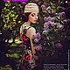 Платья ручной работы. Платье цветочное в пол - 2. Dudu-dress. Ярмарка Мастеров. Трикотажное платье, повседневное платье, микромасло