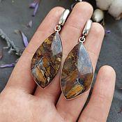 Украшения handmade. Livemaster - original item Petersit Earrings. Handmade.
