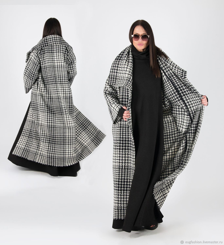 Loose wool coat-VE0508WK, Coats, Sofia,  Фото №1