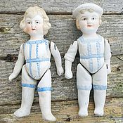 Винтажные игрушки ручной работы. Ярмарка Мастеров - ручная работа Антикварные морячки. Handmade.