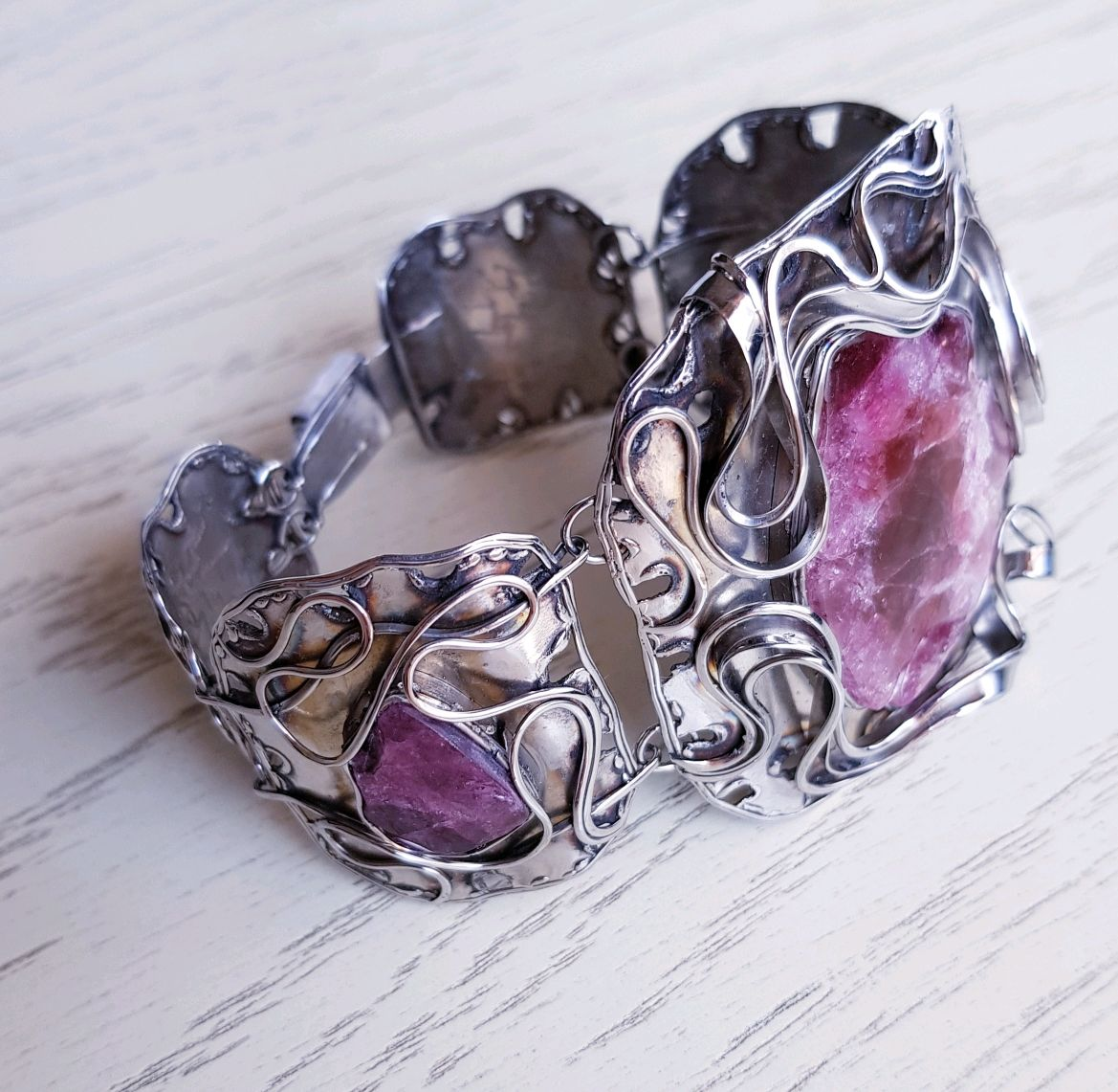 Bracelet with tourmalines, Bead bracelet, Moscow,  Фото №1