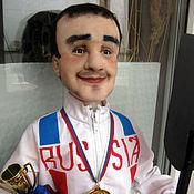 Куклы и игрушки ручной работы. Ярмарка Мастеров - ручная работа Портретная кукла Спортсмен. Handmade.