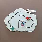 Куклы и игрушки handmade. Livemaster - original item Educational games Board the Plane. Handmade.