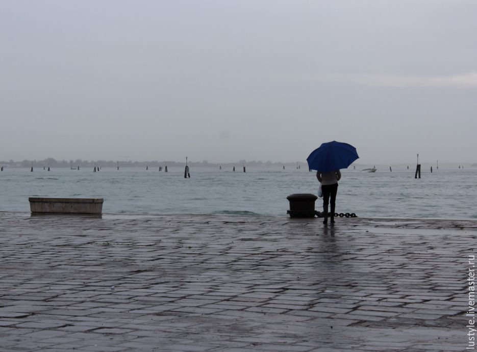 LuStyle. Авторская фоторабота `Венеция - одиночество`, Венеция, 2014 г.