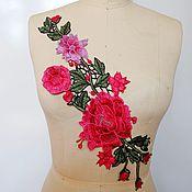 Материалы для творчества handmade. Livemaster - original item Matchless embroidered appliques, Mandy. Handmade.
