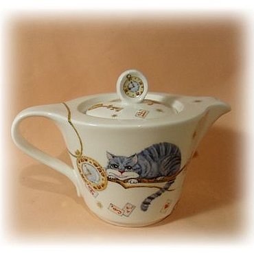 Tableware handmade. Livemaster - original item teapot from porcelain