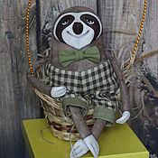 Куклы и игрушки ручной работы. Ярмарка Мастеров - ручная работа Ленивец. Handmade.