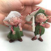 Куклы и игрушки ручной работы. Ярмарка Мастеров - ручная работа Мухоморчики. Handmade.