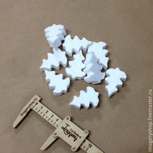 Другие виды рукоделия ручной работы. Ярмарка Мастеров - ручная работа. Купить Ёлка пенопластовая 5 см (пакет 30 шт). Handmade.