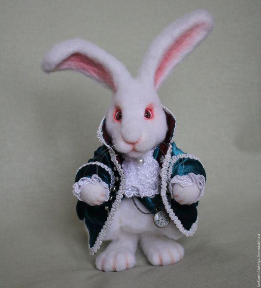 Игрушки животные, ручной работы. Ярмарка Мастеров - ручная работа. Купить Белый кролик. Handmade. Белый, кролик игрушка
