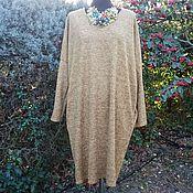Одежда ручной работы. Ярмарка Мастеров - ручная работа Платье-кокон Дижон. Handmade.
