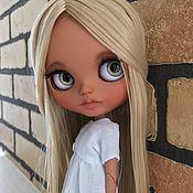 Кастом ручной работы. Ярмарка Мастеров - ручная работа Кукла Блайз кастом , шарнирное тело. Handmade.