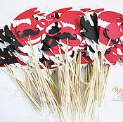 Подарки к праздникам ручной работы. Ярмарка Мастеров - ручная работа Наборы фотобутафории на корпоративы. Handmade.