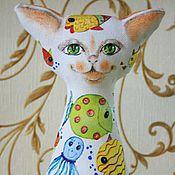 Куклы и игрушки ручной работы. Ярмарка Мастеров - ручная работа Кот № 5. Handmade.