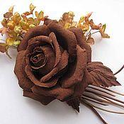 Украшения handmade. Livemaster - original item Silk flowers.Boutonniere