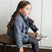 Комплекты одежды ручной работы. Ярмарка Мастеров - ручная работа Трикотажный пиджак. Handmade.