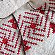 Tunic with hood 'Elements of Fire', hand embroidery, woven belt. Tunics. EM design (EMdesign). My Livemaster.Фото №4