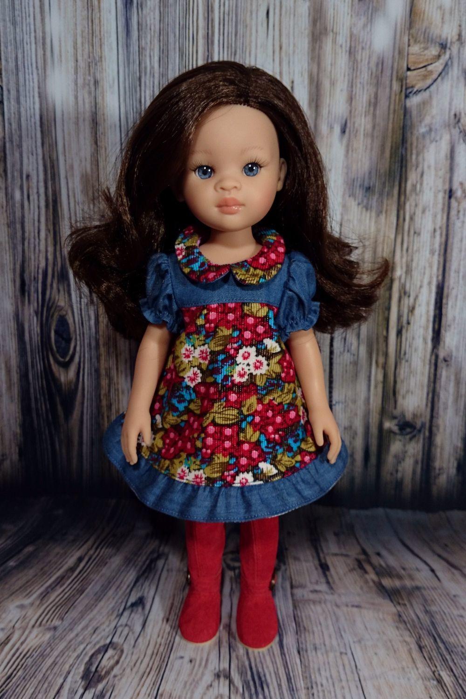 Платья (2 расцветки) для кукол Paola Reina, Одежда для кукол, Кострома,  Фото №1