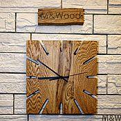 Часы ручной работы. Ярмарка Мастеров - ручная работа Часы настенные из дерева. Handmade.