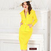 Одежда handmade. Livemaster - original item Women`s business suit in a retro style