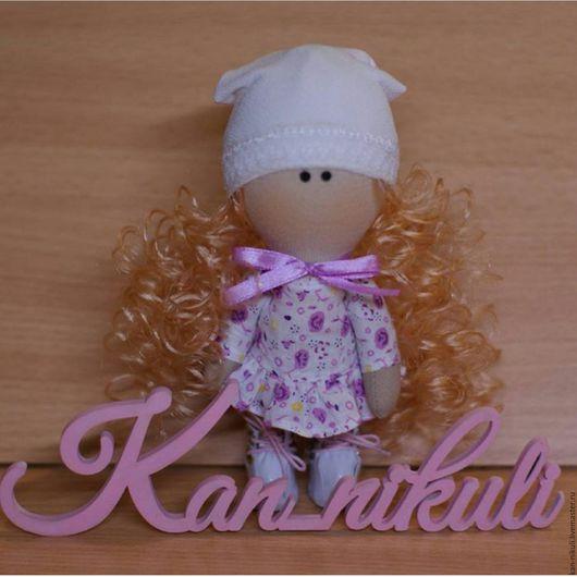Коллекционные куклы ручной работы. Ярмарка Мастеров - ручная работа. Купить Куколка текстильная. Handmade. Кукла ручной работы, подарок