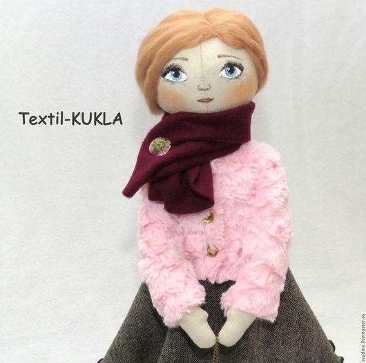 """Человечки ручной работы. Ярмарка Мастеров - ручная работа. Купить Текстильная кукла """"Paulina"""". Handmade. Куклы и игрушки, кукла текстильная"""
