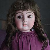 Материалы для творчества ручной работы. Ярмарка Мастеров - ручная работа Парик для антикварной куклы. Handmade.