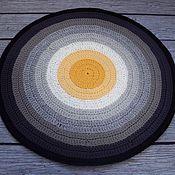 Для дома и интерьера handmade. Livemaster - original item The round carpet in the bedroom crocheted