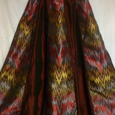 Одежда ручной работы. Ярмарка Мастеров - ручная работа Юбка шелковая Праздничная длинная. Handmade.