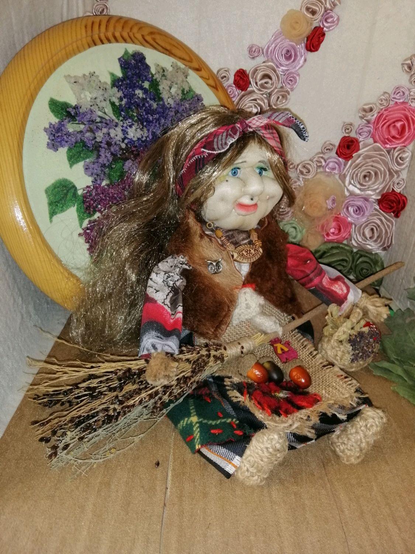 Обореговая кукла Баба Яга Ядвига, Народная кукла, Кропоткин,  Фото №1