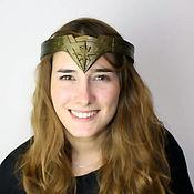 Одежда handmade. Livemaster - original item Tiara Wonder Woman. Handmade.