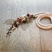 Украшения ручной работы. Ярмарка Мастеров - ручная работа Сотуар Цветочный. Handmade.