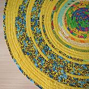 Для дома и интерьера ручной работы. Ярмарка Мастеров - ручная работа Коврик-половичок. Handmade.