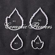 """Материалы для творчества handmade. Livemaster - original item Набор каттеров """" Листья малины """". Handmade."""