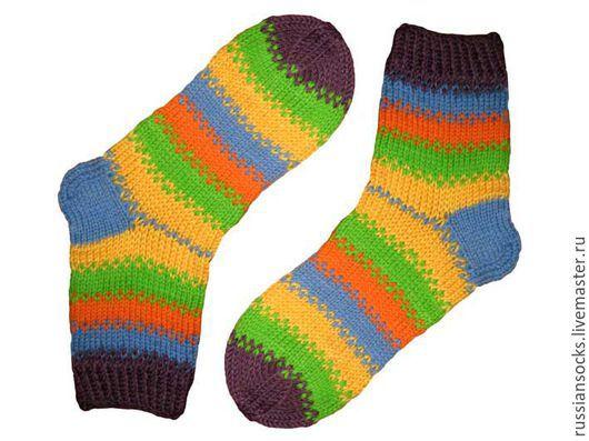 носки ручная работа вязаные носки вязанные носки полосатые