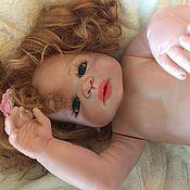 Куклы и игрушки ручной работы. Ярмарка Мастеров - ручная работа Девочка Виктория, 55 см. Handmade.