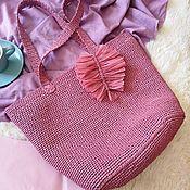 Сумки и аксессуары handmade. Livemaster - original item Raffia purse. Handmade.