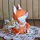 Мишки Тедди ручной работы. Ярмарка Мастеров - ручная работа. Купить Катарина - лисичка Тедди в стиле Бохо. Handmade. Тедди