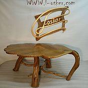 Для дома и интерьера ручной работы. Ярмарка Мастеров - ручная работа Журнальный столик из дуба. Handmade.