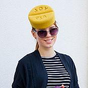 Аксессуары ручной работы. Ярмарка Мастеров - ручная работа шляпка «Таблетка радости». Handmade.