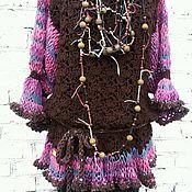 Одежда ручной работы. Ярмарка Мастеров - ручная работа Кофточка - туника бохо. Handmade.