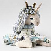 Мягкие игрушки ручной работы. Ярмарка Мастеров - ручная работа Мягкие игрушки:  Единорожка  Unicorn Doll.. Handmade.