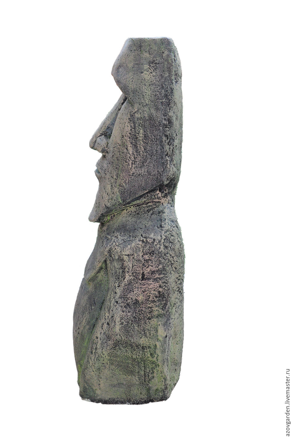 MOAI Statue From Easter Island Out Of Concrete For Garden