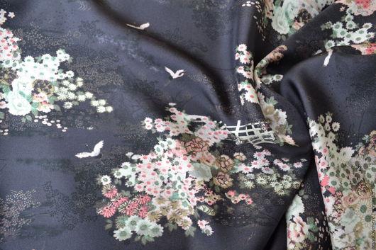 Шитье ручной работы. Ярмарка Мастеров - ручная работа. Купить шелк Dolce Gabbana твил. Handmade. Шелк, эксклюзивные ткани. Шелковое платье, шелковая рубашка, шелковые брюки, шелковая туника, шелк