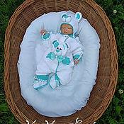 Работы для детей, handmade. Livemaster - original item The Romper is knitted in a statement of