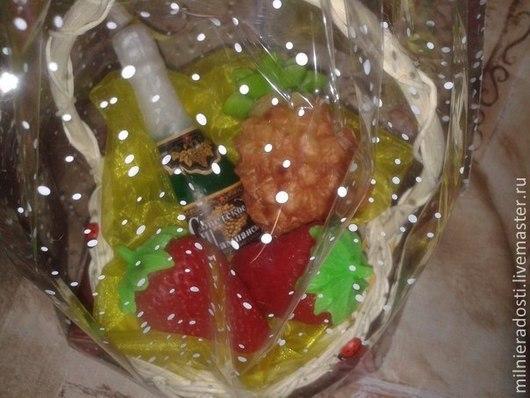 """Мыло ручной работы. Ярмарка Мастеров - ручная работа. Купить Набор мыла """"Корзина наслаждения"""". Handmade. Зеленый, ароматное мыло"""