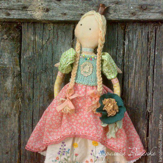 Ароматизированные куклы ручной работы. Ярмарка Мастеров - ручная работа. Купить Летняя принцесса. Handmade. Мятный, корона из меди, для детской