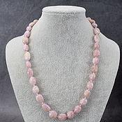 Работы для детей, handmade. Livemaster - original item Beads from natural stones kunzite. Handmade.