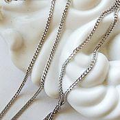 Украшения handmade. Livemaster - original item 45 cm silver Shell Chain (art: :002. d. .0,40). Handmade.
